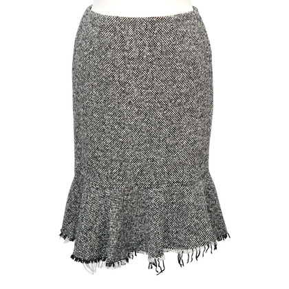 Hobbs skirt in grey wool