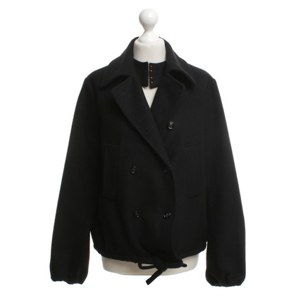 Yves Saint Laurent Veste en noir