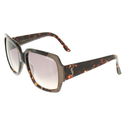 Yves Saint Laurent Sonnenbrille in Schildpatt-Optik