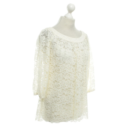 "Diane von Furstenberg top ""Elisabetta"" in cream"