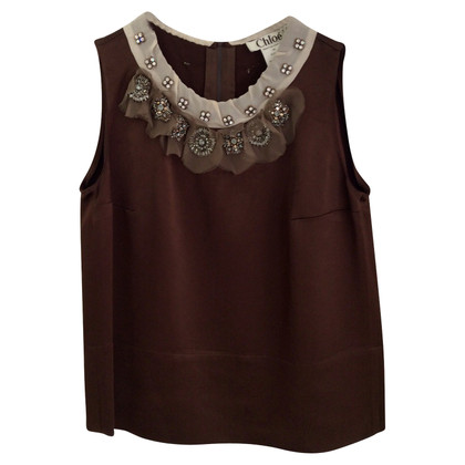 Chloé top with jewelry