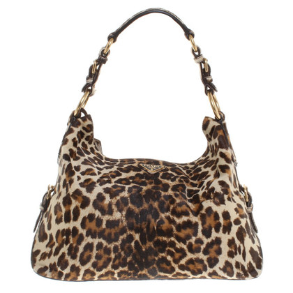 Prada Handbag with leopard print