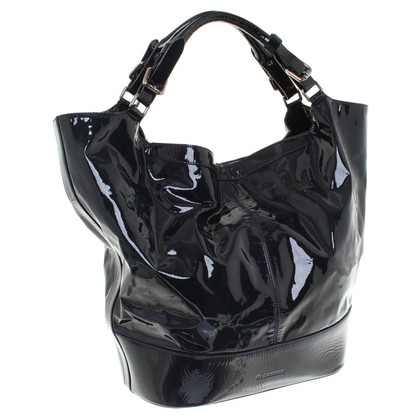 Jil Sander Shoppers patent leather