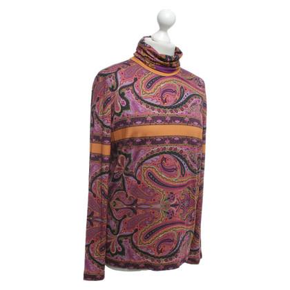 Etro Longshirt mit Paisley-Muster