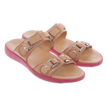Hogan Sandals in light brown