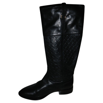 Hugo Boss boots leather