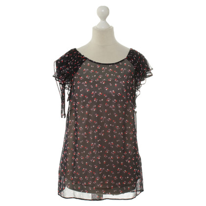 Red Valentino Transparante blouse met onder top