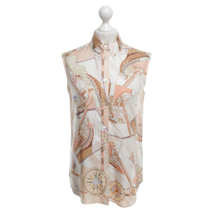 Hermès Top in silk