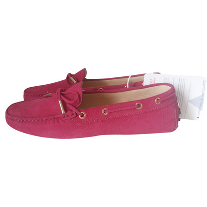 Tod's Loafer aus Veloursleder