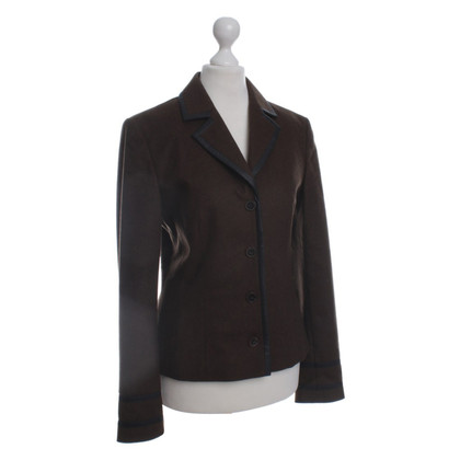 Hugo Boss Wool Blazer in Brown