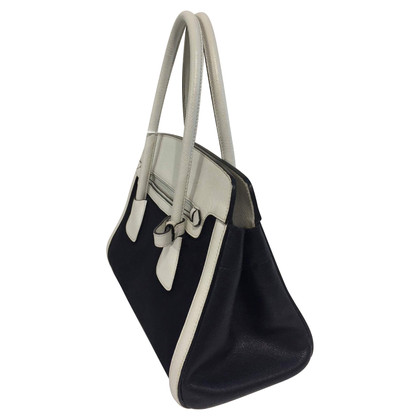 Prada Handbag in black and white