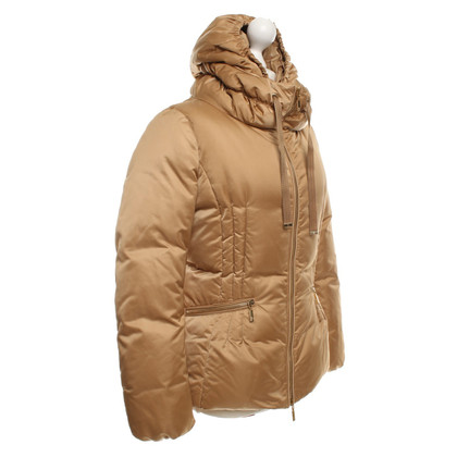 Moncler Down jacket in beige