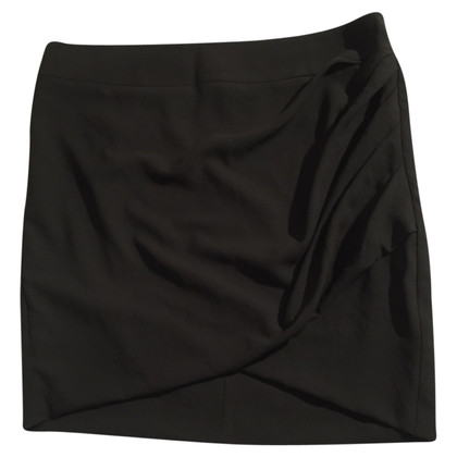 Helmut Lang Black mini skirt