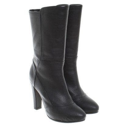 Kaviar Gauche Black leather boot