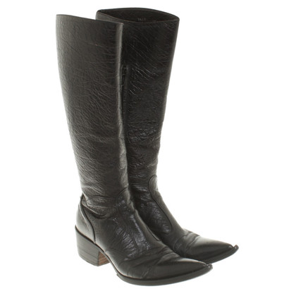 Gianni Barbato Boots in Black