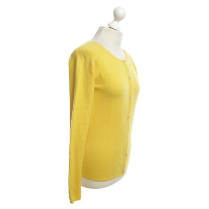 Andere merken Mc Leod - kasjmier vest in het geel