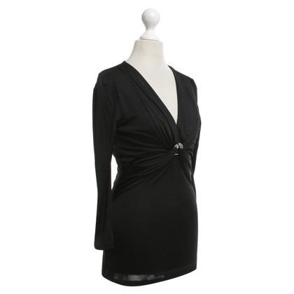 Roberto Cavalli top in black