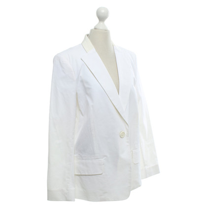 Schumacher giacca classica in bianco