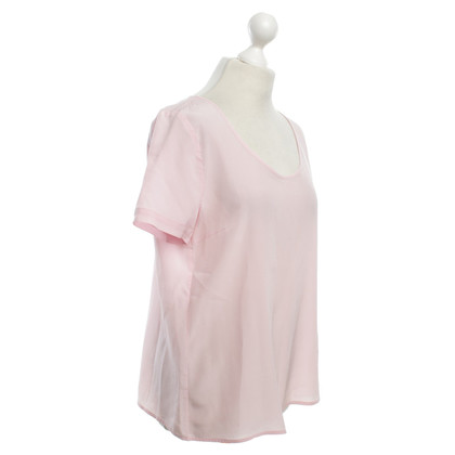 Patrizia Pepe Silk-top in pink