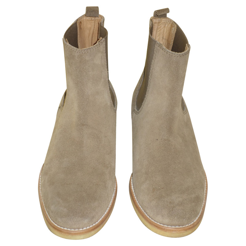 Pedro Garcia Ankle boots Suede in Ochre