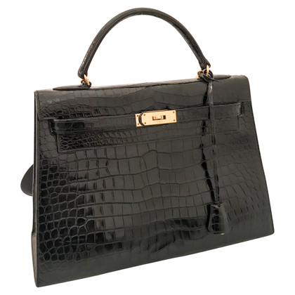 "Hermès ""Kelly Bag 32 pelle di coccodrillo"""