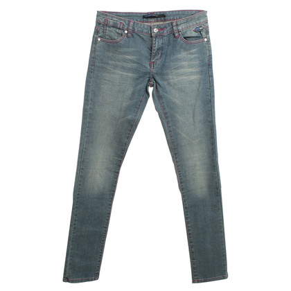 Emanuel Ungaro Jeans with decorative seams