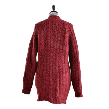 Gant Cardigan sweater in Burgundy
