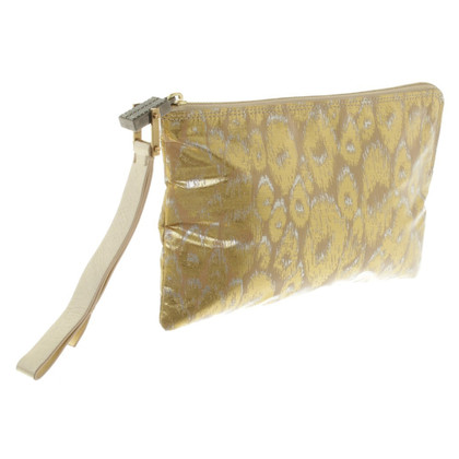 Lanvin clutch met animal print