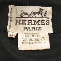 Hermès Silk dress in black