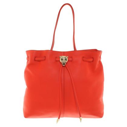 Roberto Cavalli Shopper in red