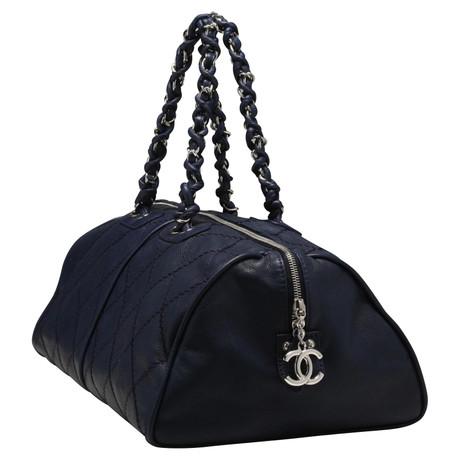 Für Billigen Rabatt Chanel Bowling Bag Blau Shop Für Günstige Online Heißen Verkauf Online-Verkauf 5OYoi7B5B2