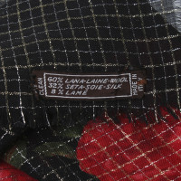 Yves Saint Laurent Cloth with floral pattern