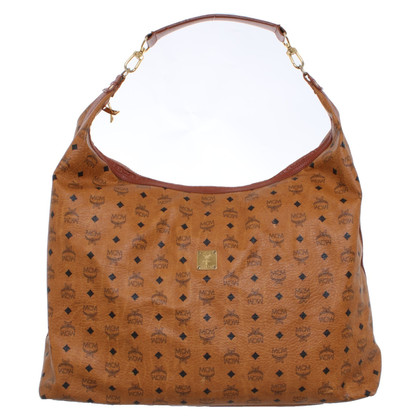 MCM Travel bag with logo pattern