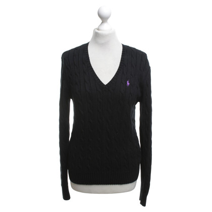 Ralph Lauren Knitted sweater in black