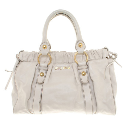 Miu Miu Handbag in cream