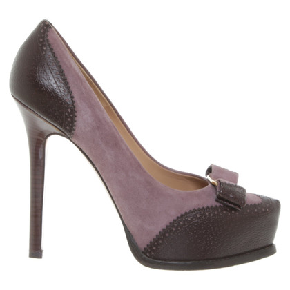 Salvatore Ferragamo Plateau-pumps with application