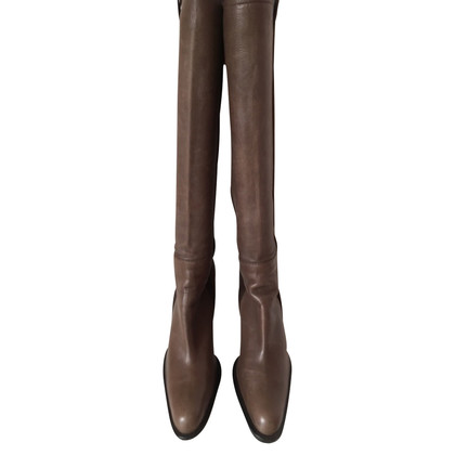 Casadei Leather boots, brown