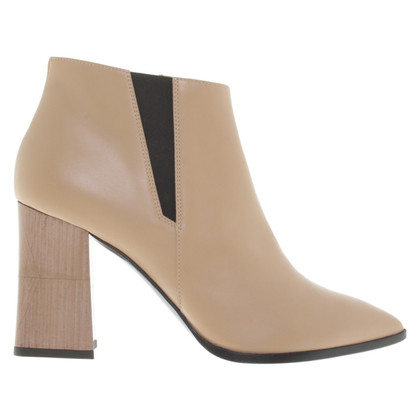 Pollini Ankle boots in beige
