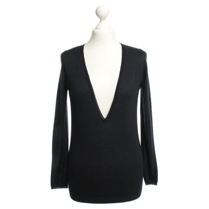 Brunello Cucinelli Pullover blu scuro