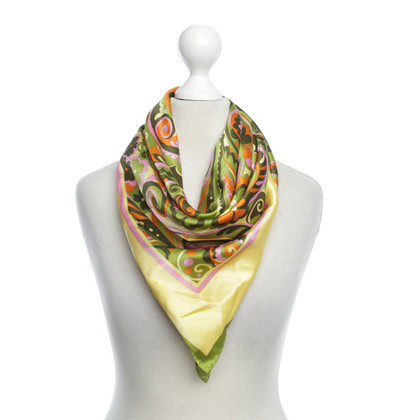 Dolce & Gabbana Colorful silk scarf