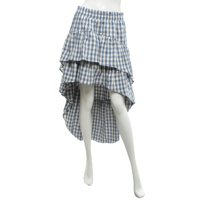 MISA skirt with checked pattern