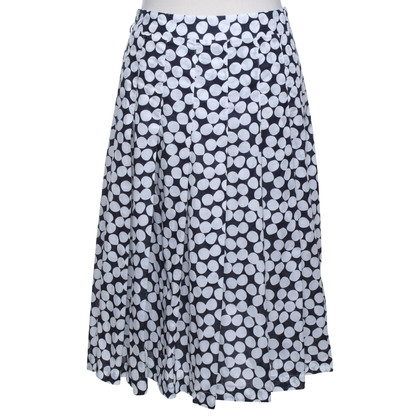 Hobbs skirt with polka dots