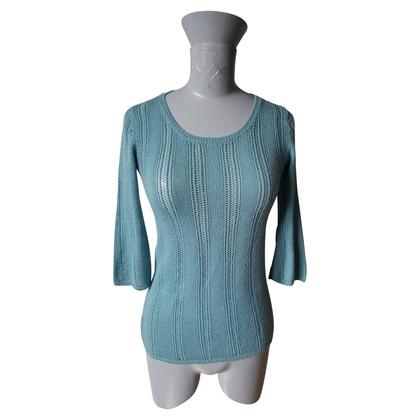 Prada Sweater in turquoise