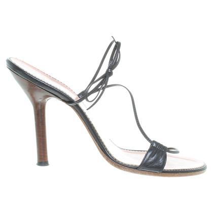 Gucci Sandaletten mit Muster