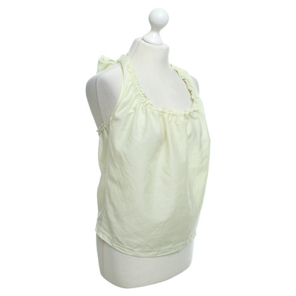 Jil Sander Halter top in light green