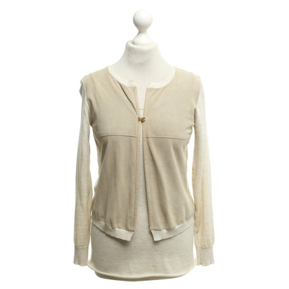 Fabiana Filippi Twin set in beige