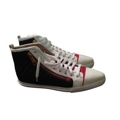 Miu Miu High-Top-Sneakers aus Leder