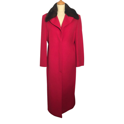 Gianni Versace Long cashmere coat