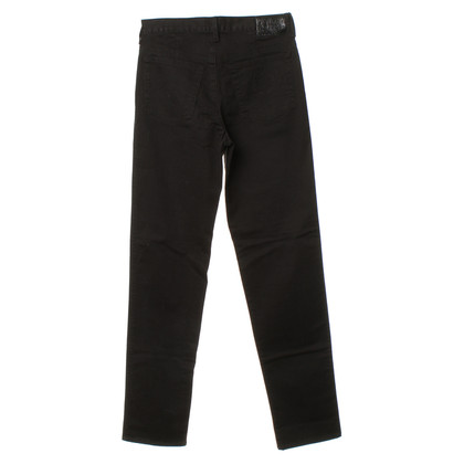 Armani Jeans Cotton jeans in black
