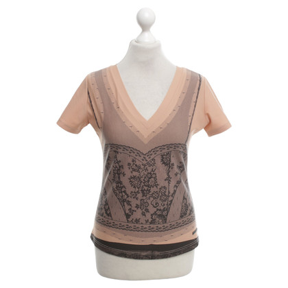 Christian Dior top with lace application